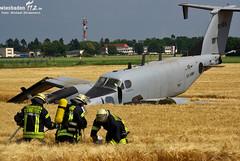 Flugzeugnotlandung Erbenheim 30.06.10