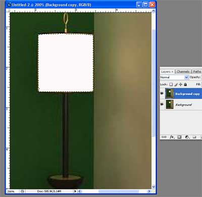 how to add a static effect on photoshop
