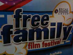 Free Family Film Festival at Regal Cinema