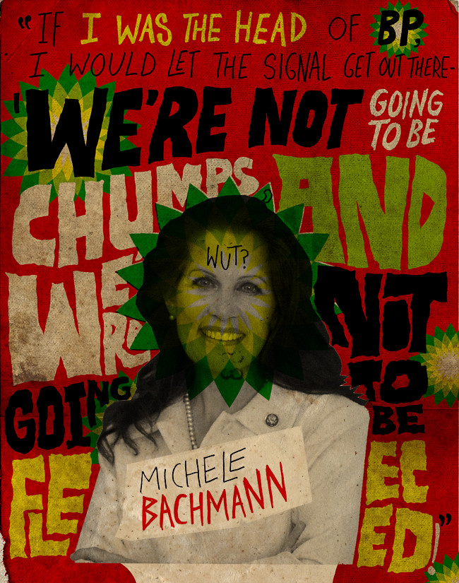 Crazy Michele Bachmann