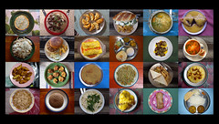 Annapurna Tea House Food (karon.liu) Tags: nepal food color colour collage breakfast dinner pie dessert lunch soup rice sandwich snack noodles pancake teahouse annapurna