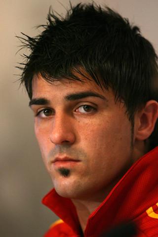 David Villa España Mundial