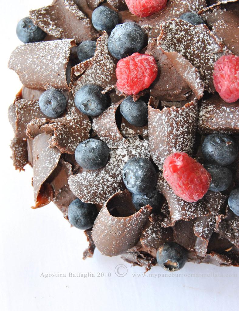 pavlova al cioccolato gluten free