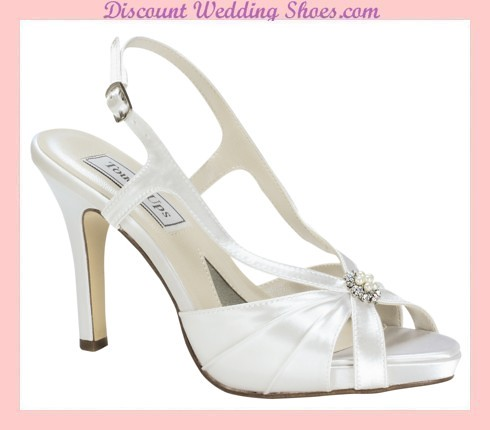 Wedding shoes are comfortable to wear with high heels