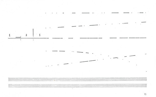 Cornelius Cardew's Treatise page 73