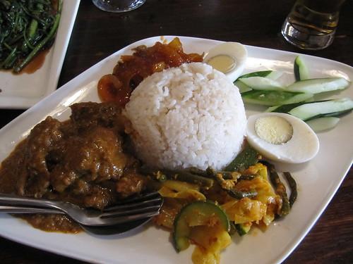 nasi lemak, Penang