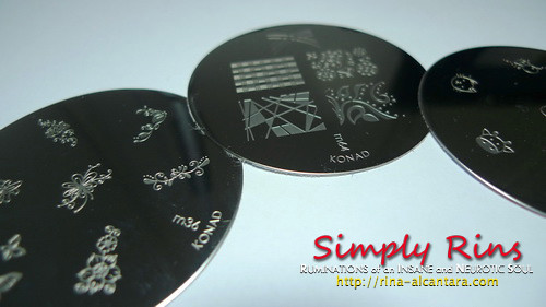 Konad Stamping Nail Art 007