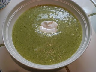 Cream of Broccoli Soup @ The Domestic Engineer