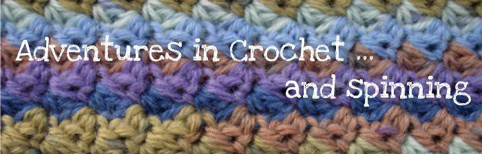 Adventures in Crochet (and spinning...)