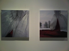 Christine Elfman - Red and White series