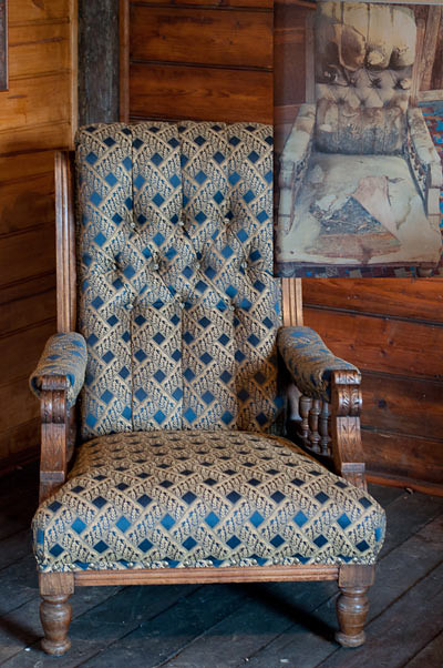 wolgan valley restored nursing chair
