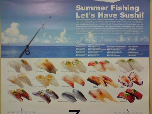 fish japanese restaurant calendar vic educational sushirestaurant glenwaverley daiwa shiranui 不知火 glenwaverleyvic hironishikura daiwafoodcorporation ichibajunction shiranuisushirestaurant