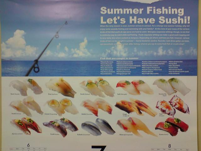 Summer Fishing - Daiwa Calendar - top - Shira Nui by avlxyz