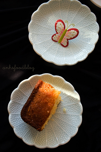 grapefruit syrup cake
