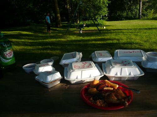 Dinner-side