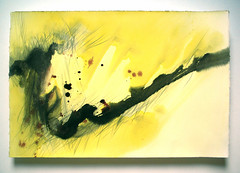 On a bright sunny day (Nathalie Houde [aquanatali]) Tags: abstract art ink paper papier graphite encre abstrait