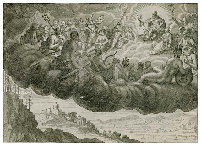 002-Les Metamorphoses d'Ovide  En Latin Et François … 1677