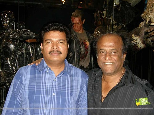 Endhiran Movie Director Shankar and Superstar Rajinikanth