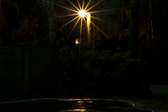 Asterisco (Joaquin Villaverde Photography) Tags: light pool night stars star luces noche nikon bright brillo d3000
