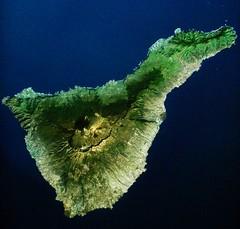 Tenerife a vista de sat