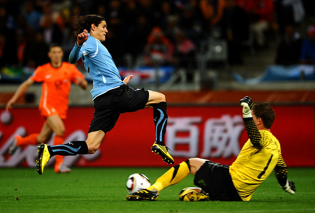 Holland Uruguay World Cup Edinson Cavani