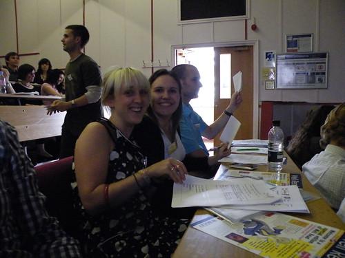 Emma Illingworth and myself at NPC2010
