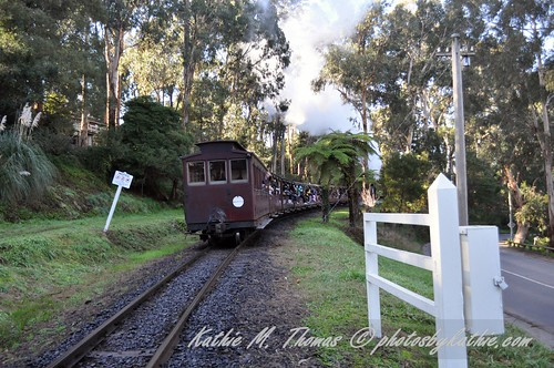 Leaving the Selby Crossing