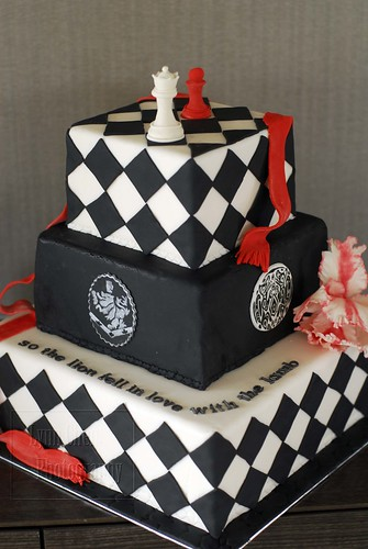 Front of the Twilight Saga cake