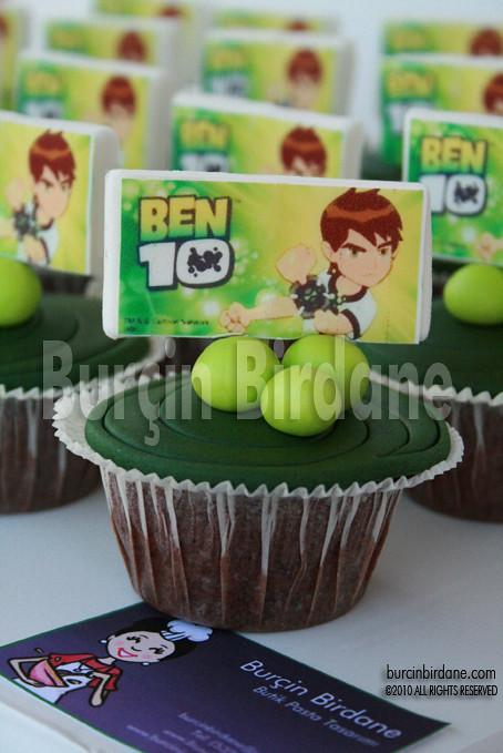 Ben10 Cupcake