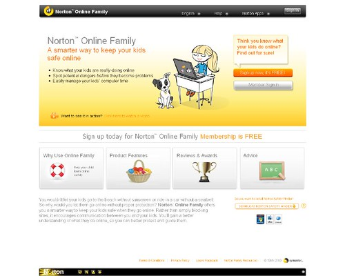 Parental Control Software - Norton™ Online Family_1278580534037