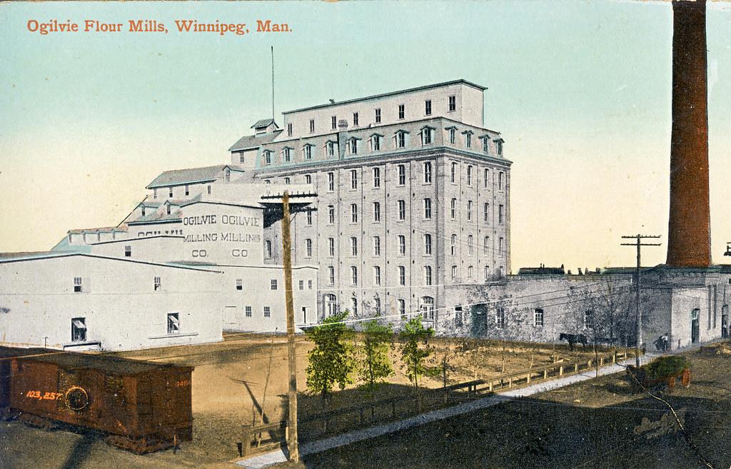 Ogilvie Flour Mills, Winnipeg
