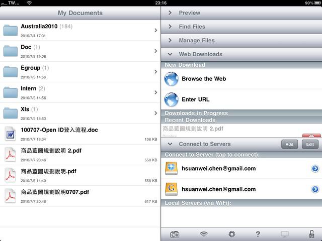 GoodReader - iPad
