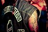 Tattoo and patches Boozefighters MC Annual