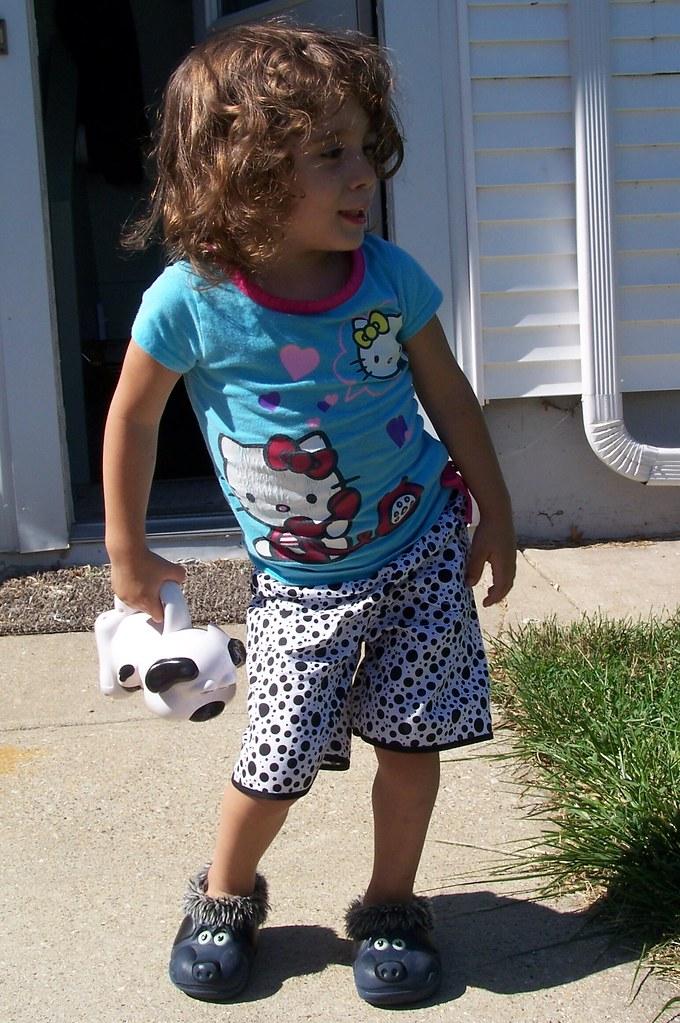 Sunny's Polka Dot Shorts