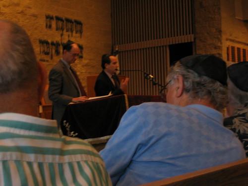 Congressman Brad Sherman & Israeli Deputy Consul Gil Artzyeli