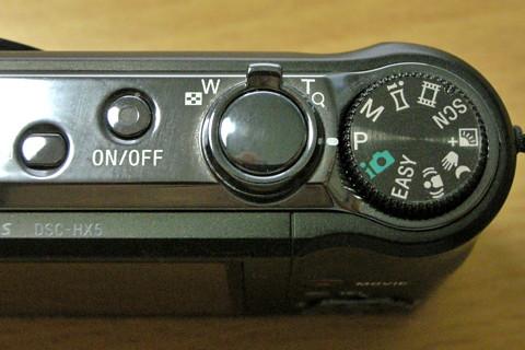 SONY Cyber-shot DSC-HX5V について愚痴りたい