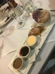 A trio of Gelato & sauces @thefalls