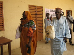 Feeding the Elderly in Chad