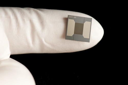 Ion Mobility Spectrometer on a Microchip by EMSL, on Flickr