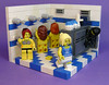 What would you do if you were a master of invisability? (DARKspawn) Tags: city girls bathroom shower town lego fig ninja room locker dio minifig cheerleader vignette diorama minifigure vig collectableminifigure