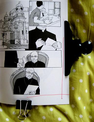 Non ti avevo nemmeno notato, di Sandro Campani (testo) e Daniele Coppi (disegni), Playground 2010; graphic designer: Federico Borghi [flickr name: ƒe], p. 97 (part.), 1