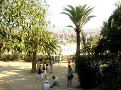 Park Güell in Barcelona, Katalonien