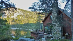 One of many cabins on Echo Lake Photo