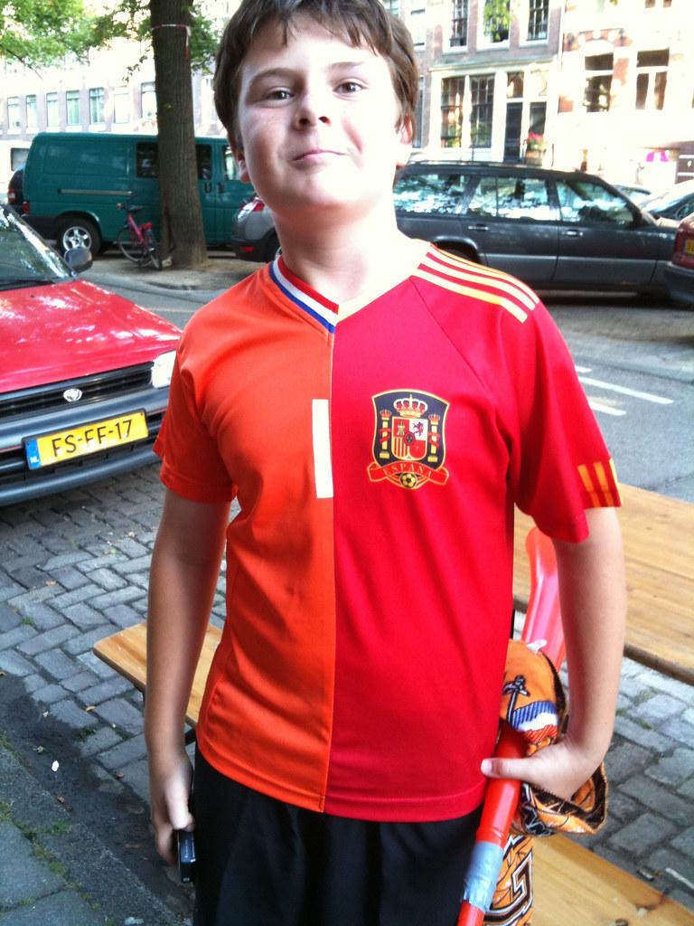 spanje-nederland 50/50 shirt