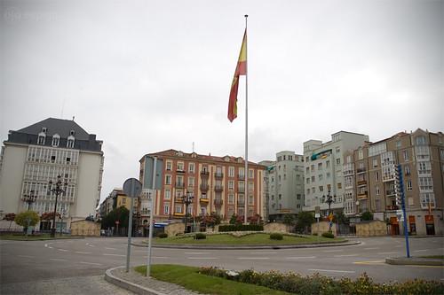 Santander durante la final del Mundial