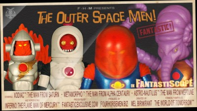 Outer Space Men SDCC Exclusives