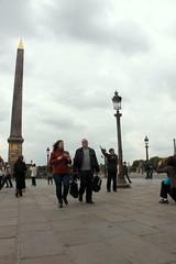 Auf dem Place de la Concorde, Paris