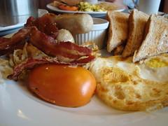 I can eat breakfast food