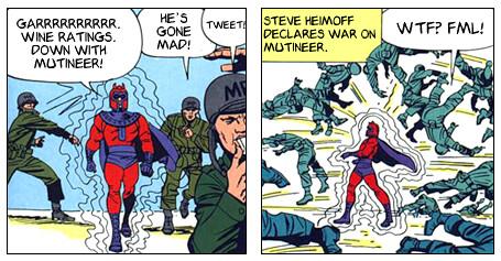 Mutineer Comic Part 1