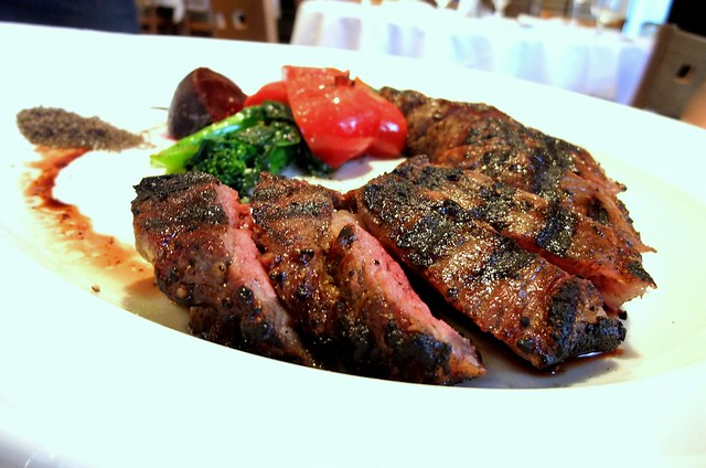 Grilled 20 OZ New York Sirloin